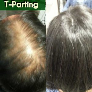 t-parting extension salon totally new